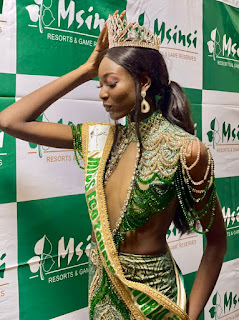 PRECIOUS OMOGHENE ZINO OF NIGERIA WINS 1ST MISS WORLD ECO TOURISM PAGEANT