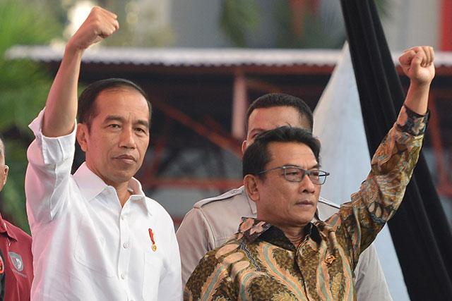 Moeldoko Ungkap Tak Pusing, Lalu Kenapa Mural Kritik Jokowi Dihapus?