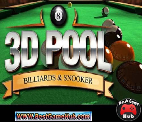 3D Pool Billiards and Snooker Full Version PC Game Free Download