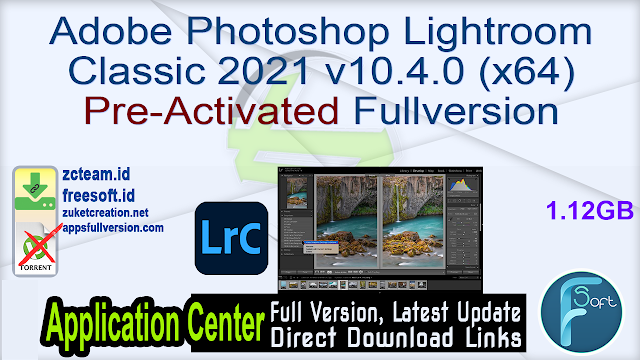 Adobe Photoshop Lightroom Classic 2021 v10.4.0 x64 Pre-Activated Fullversion