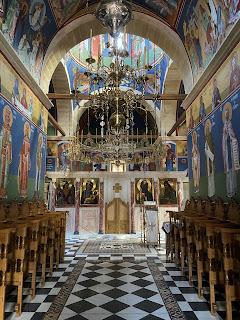 Gouverneto Monastery church - inside.
