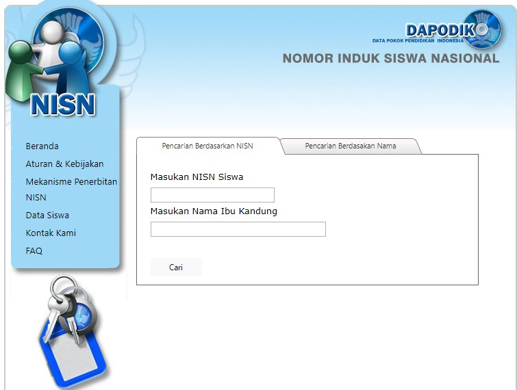 Cara Cek NISN Siswa Online 2021