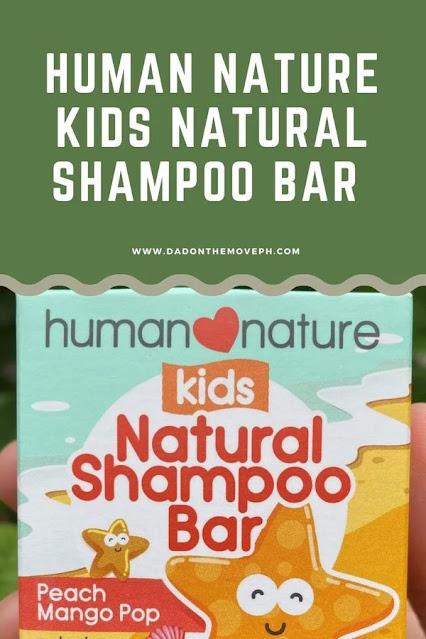 Human Nature Kids Natural Shampoo Bar review