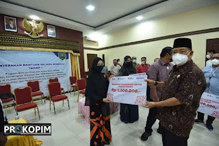Bantuan Bagi Pelaku UMKM di Padangsidimpuan Cair