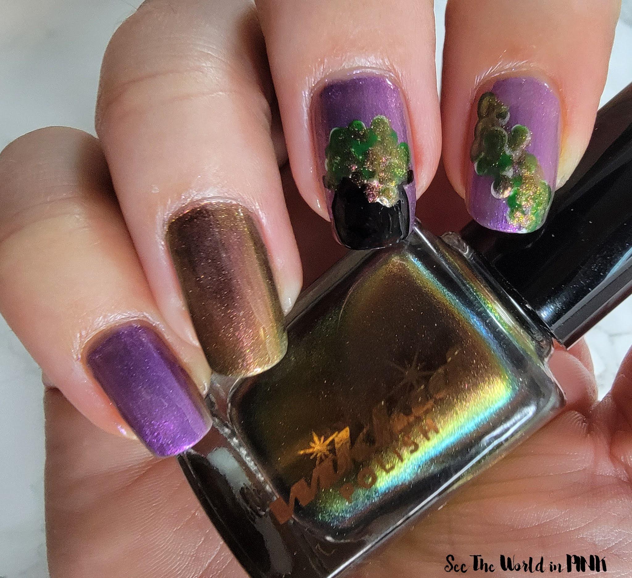 Manicure Monday - Witch's Cauldron Nails