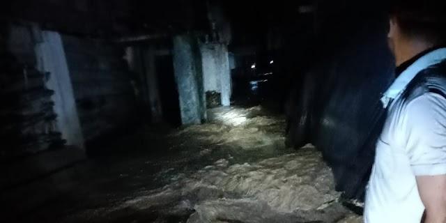 140 Rumah Terendam Banjir di Ogan, Ketinggian Air Sampai 150 Cm