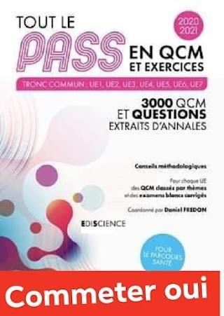 Tout le Pass en QCM et exercices, 2020-2021