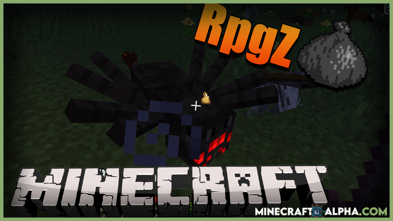 Minecraft RpgZ Mod 1.17.1 (RPG Looting)