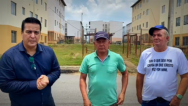 Chrisóstomo Fiscaliza Residencial Morar Melhor II em Ji-Paraná Chrisóstomo Fiscaliza Residencial Morar Melhor II em Ji-Paraná