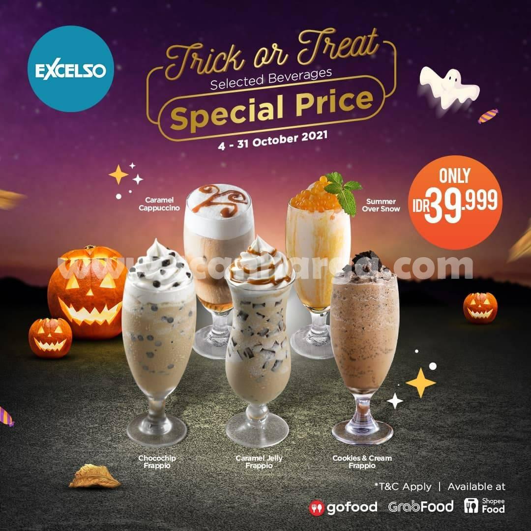 Promo Excelso Coffee TERBARU 4 - 31 Oktober 2021