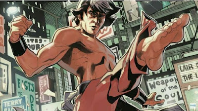 IN THE COMICS, SHANG-CHI WAS PART OF WHICH OF THESE GROUPS?
