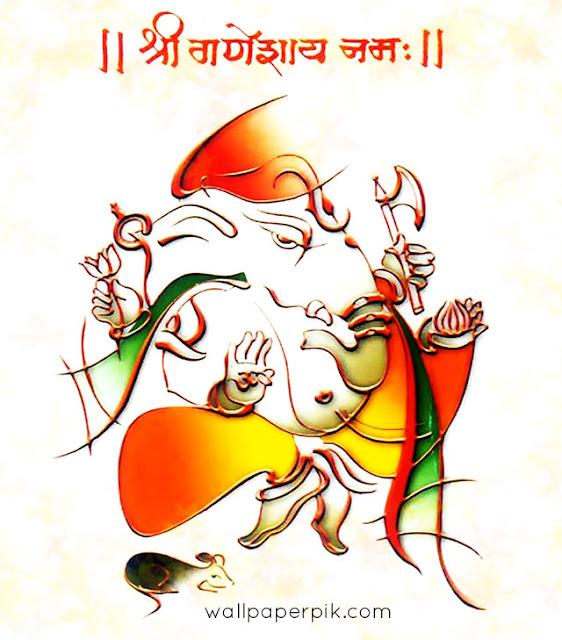 ganesh bhagwan painting