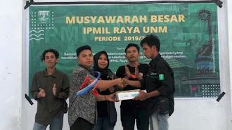Mubes IPMIL Raya UNM, Lahirkan Nahkoda Baru Periode 2021-2022