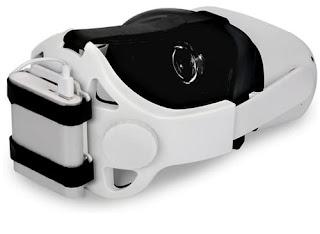 JSVER Adjustable Head Strap with Removable Battery Pack Holder