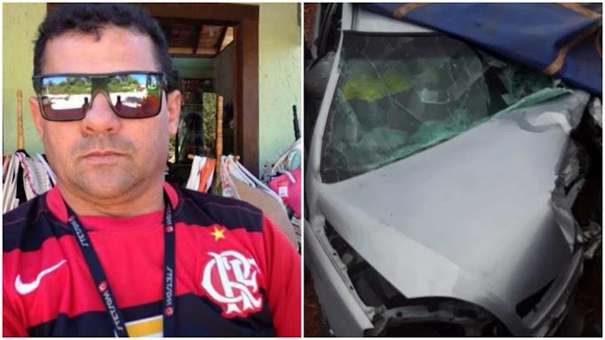 Redeiro da cidade de Patos morre em acidente de carro no estado de Minas Gerais