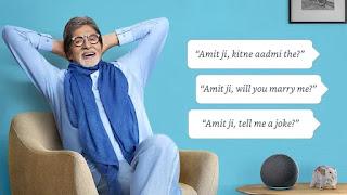 Media kesari Bazar Plus-celebrity news amazon news- Alexa say Hello to Amitabh Bachchan Amit ji voice now live on Alexa for a price INR 149