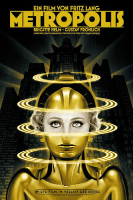 Metropolis Screen Print by Phantom City Creative x Mondo