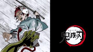 鬼滅の刃アニメ アイキャッチ 竈門炭治郎 Kamado Tanjiro   Demon Slayer Eyecatcher