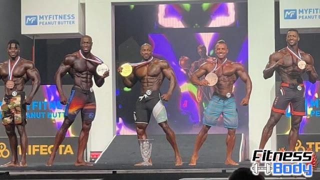 نتائج مستر أولمبيا 2021 المانس فيزيك