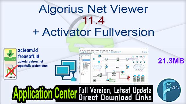 Algorius Net Viewer 11.4 + Activator Fullversion