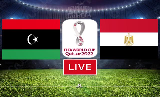 Watch Match Egypt vs Libya Live Streaming FIFA World Cup Qatar 2022 Qualifier