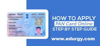 How to apply pan card online step by step guide