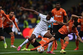 دوري أبطال أوروبا تعادل  شاختار بدون أهداف مع إنتر ميلان في الجولة الثانية من دور المجموعات
