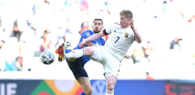 ملخص واهداف مباراة ايطاليا وبلجيكا (2-1) دوري الامم الاوروبية