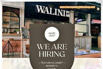 Loker Bandung Karyawan Cafe Walini