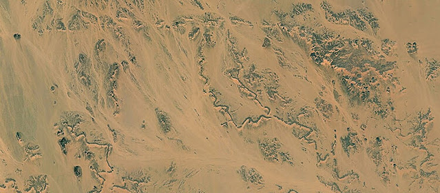 Fossil rivers of the Sahara tell of the threat of warming