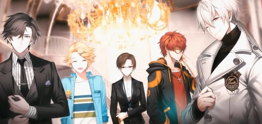Chat time in Mystic Messenger for each character