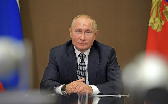 7 октября Владимиру Путину исполнилось 69 лет