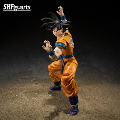 NYCC 2021: Nuevas figuras de Tamashii Nations de Dragon Ball Super: Super Hero, Dragon Ball Z y Naruto.
