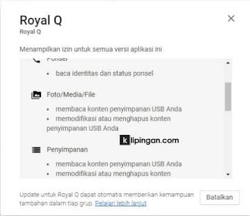 Amankah Royal Q digunakan