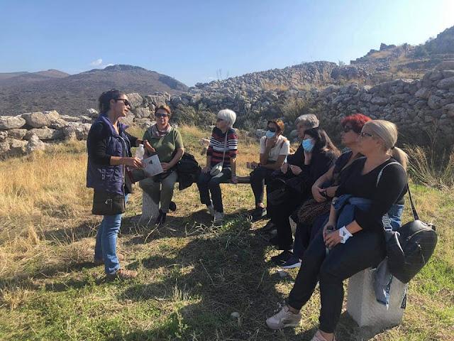 Επίσκεψη οργάνωσε ο ΔΟΠΠΑΤ στην Ακρόπολη της Μιδέας και στο Μυκηναϊκό Νεκροταφείο των Δενδρών