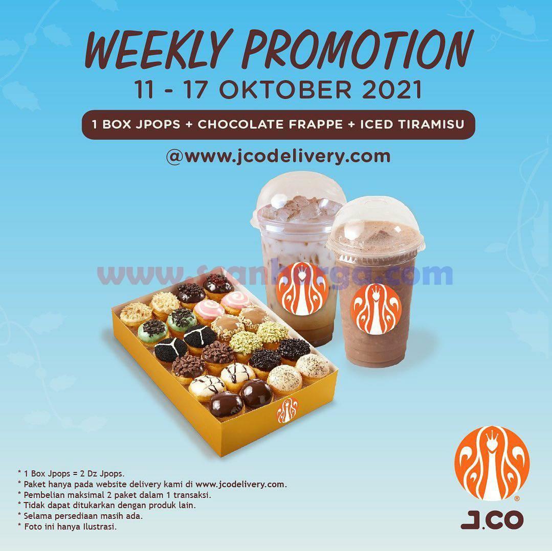 Diskon Promo JCO Minggu Ini | 11 - 17 Oktober 2021 2