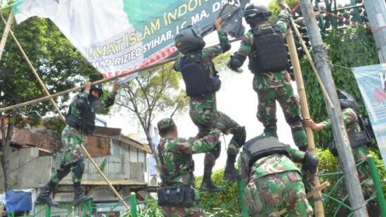 Catatan Setara Institute, Penurunan Baliho FPI oleh TNI Tidak Memiliki Dasar Hukum