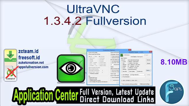 UltraVNC 1.3.4.2 Fullversion