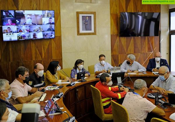 La ministra Robles destaca en La Palma el compromiso absoluto de las Fuerzas Armadas con la Isla