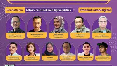 Pekan Literasi Digital akan digelar Kemenkominfo di Mandalika