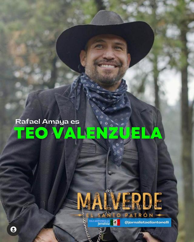 Rafael Amaya habla de su nuevo personaje en Malverde: El Santo Patrón | Telemundo