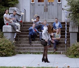 Haley Pullos in a scene from FROM STRAIGHT A'S TO XXX.