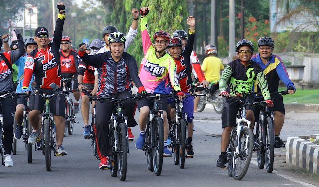 Muba Bakal Miliki Jalur dan Parkir Khusus Sepeda