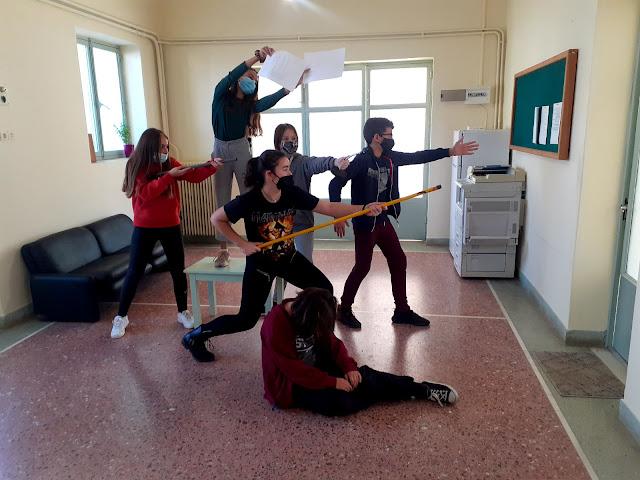 Εκπαιδευτικό πρόγραμμα του Φουγάρου στους μαθητές του Καλλιτεχνικού Σχολείου Αργολίδας