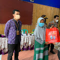 Lagi, Polresta Banyumas Salurkan Bantuan Sosial di Pekuncen