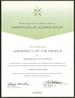 Are University of the People degrees accredited?