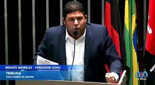 Renato comemora procura de terreno para construção de Vila Olímpica