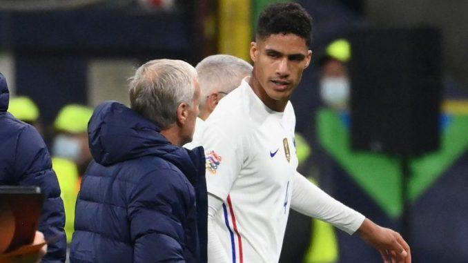 Injury knocks off Varane may miss Leicester clash