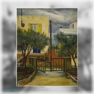 Πίνακας ζωγραφικής Μίκη Ματσάκη