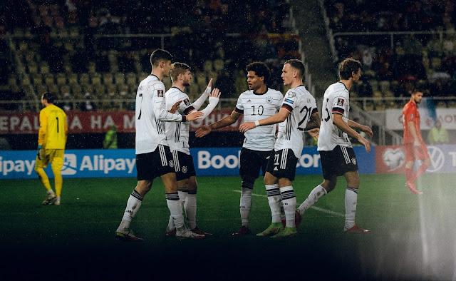 ملخص اهداف مباراة المانيا ومقدونيا (4-0) تصفيات كاس العالم
